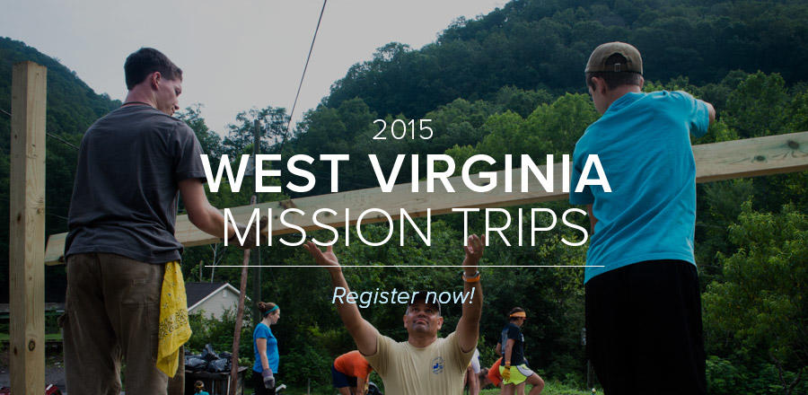 West Virginia Mission Trips 2015